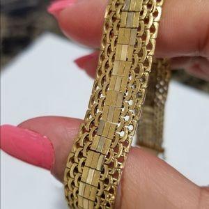 Jewelry - Vintage 18k Gold Italian Bracelet 36 gram